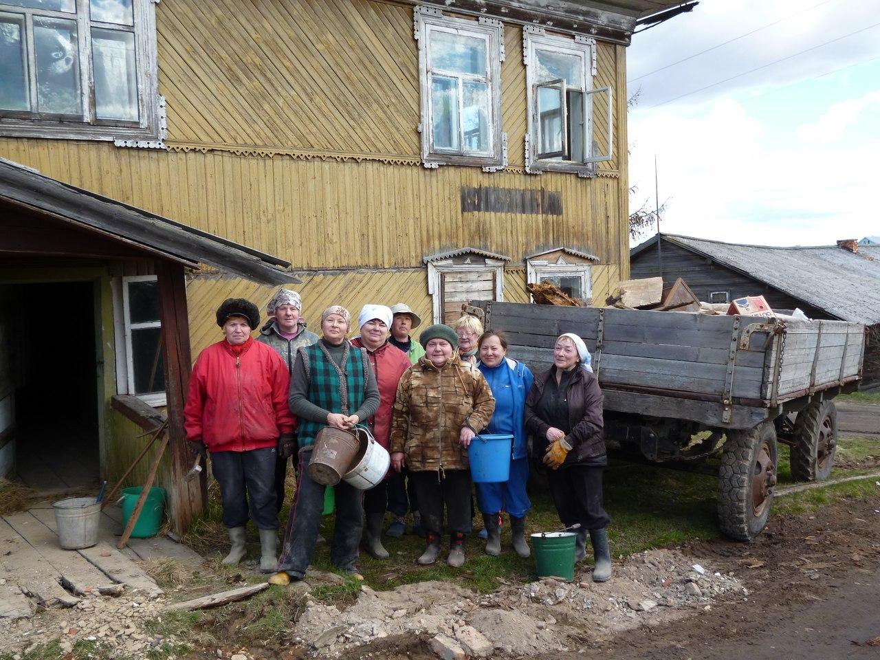 Восстановление здания для музея. Фото из группы