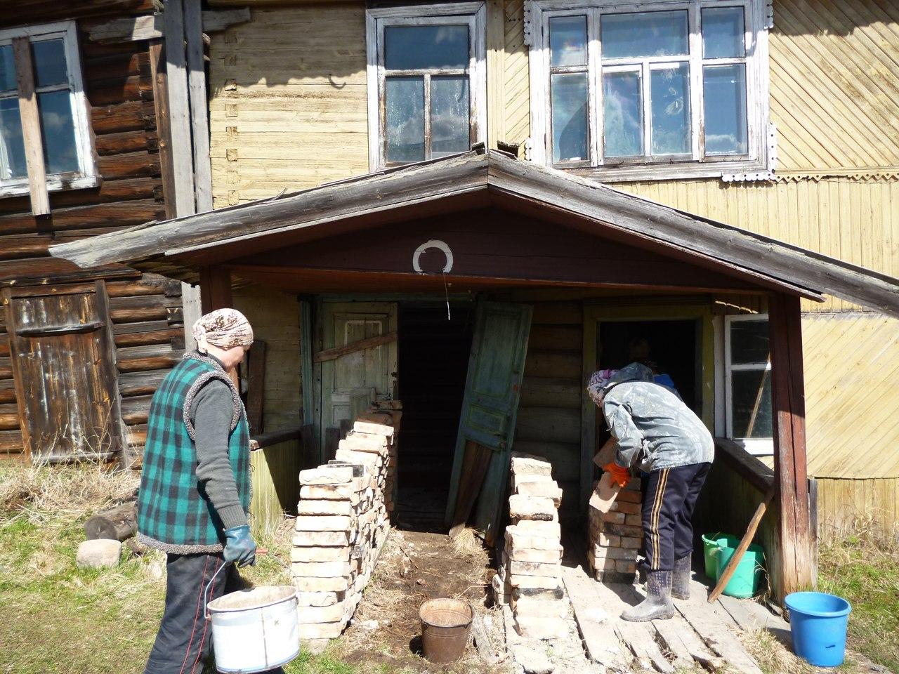 Восстановление здания для музея. 17 мая 2014 г. Фото из группы