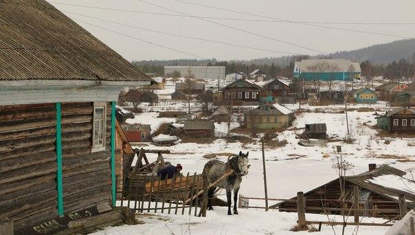 Поморское село Нюхча. Фото В. Дрягуева (г. Беломорск, Республика Карелия)
