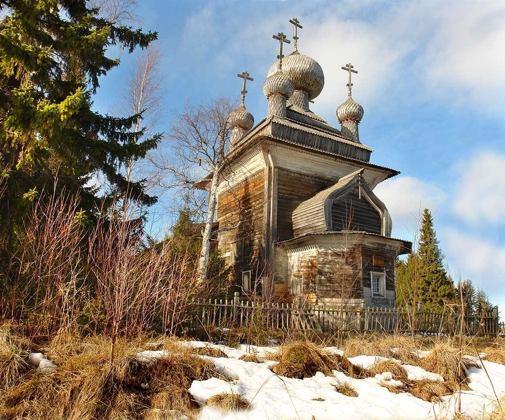 Храм Петра и Павла. Вирма. Фото Виктора Дрягуева