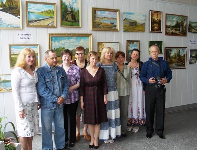 Участники и организаторы выставки