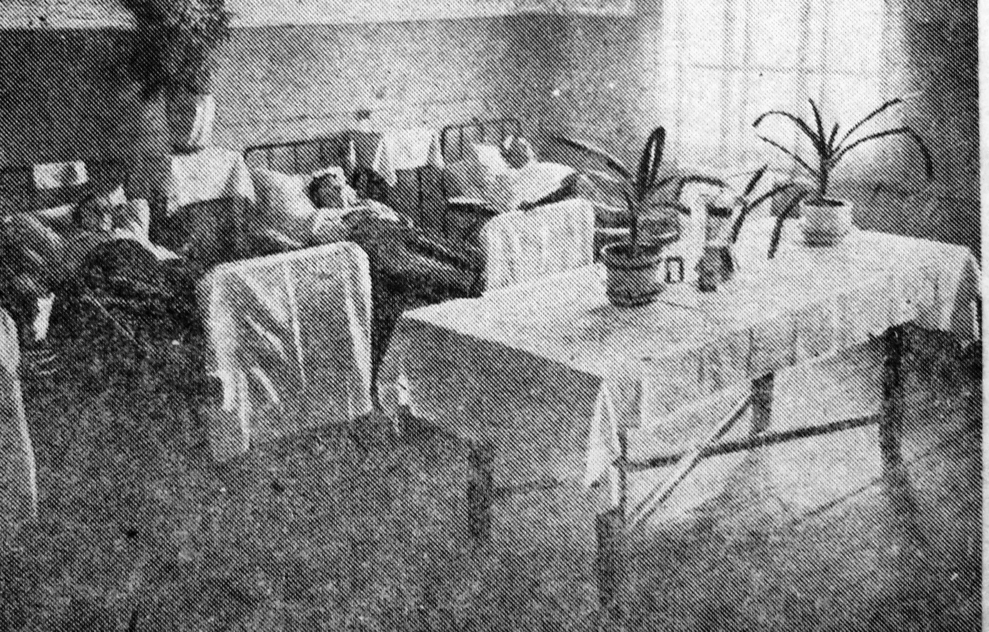 Одна из палат Сорокской районной больницы. Фотокопия из газеты «Беломорская трибуна» 10 марта 1935 г. Из фондов НБ РК