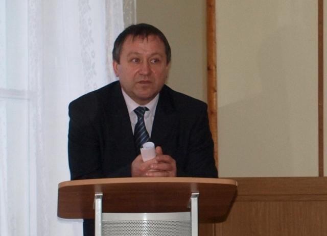 В.Ф.Попов, Глава администрации МО БЕломорский муниципальный район