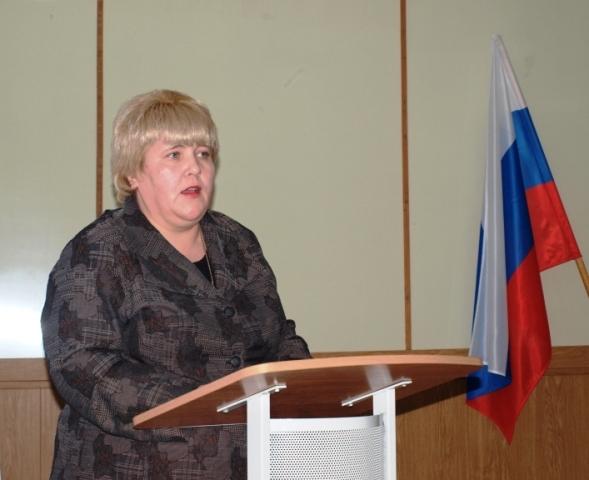 Е.В.Богданова, министр Министерства культуры РК