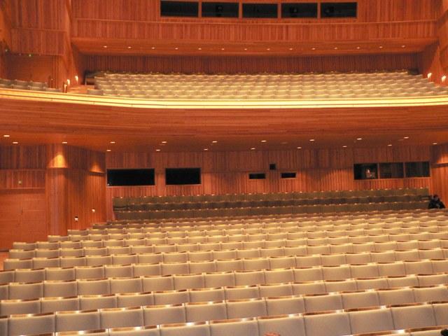 Зрительный зал Дома культуры