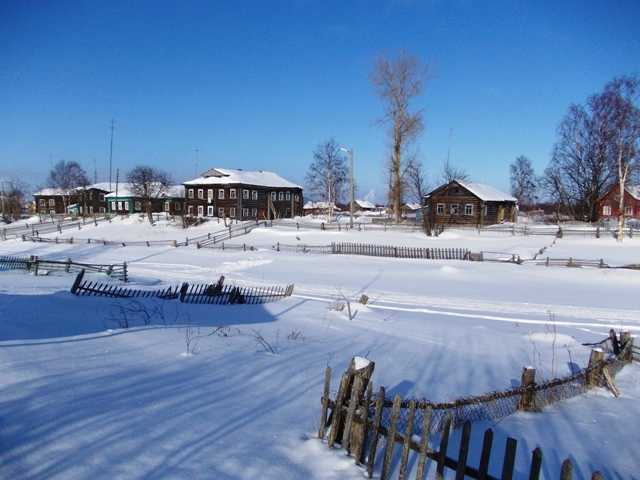 Поморская Колежма. Фото С. Кошкиной, 12 марта 2013 г