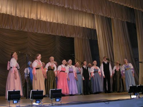 Поморский народный хор в Кеми