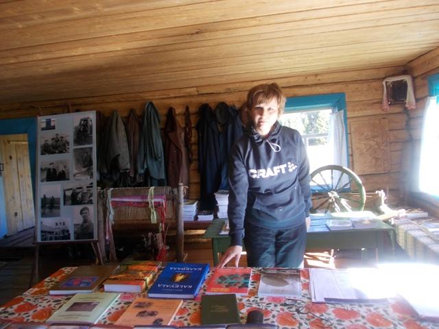 Деревня Хайколя. Дом-музей Ортье Степанова. Фото О.Степановой. 21.05.2013 г.