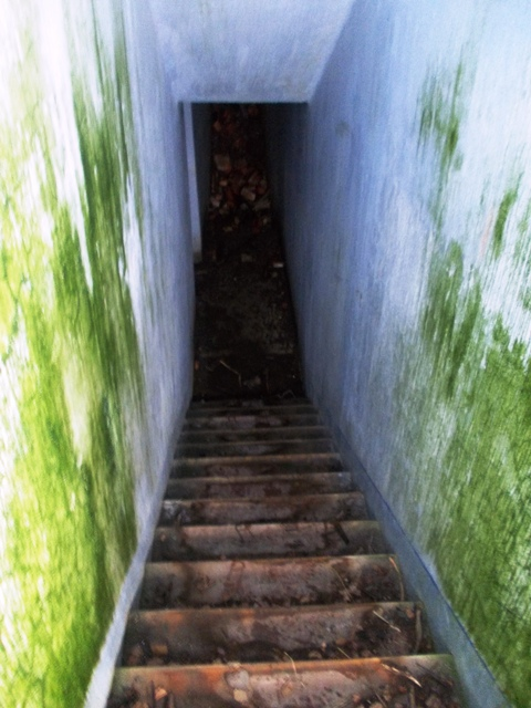 Лестница, ведущая в штаб