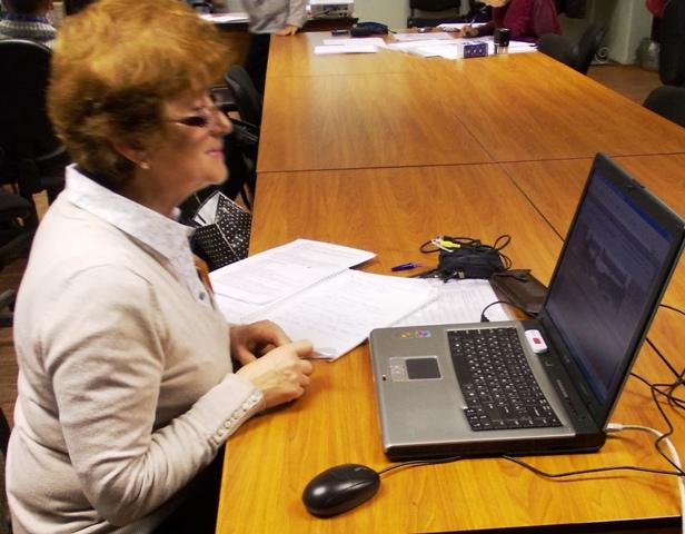 Татьяна Васильевна Каньшиева. 17 октября 2013 г. Фото С.В. Кошкиной