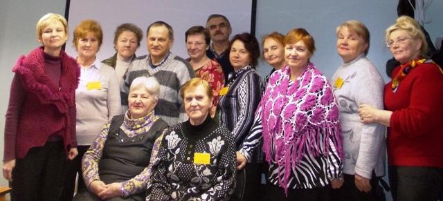 Участники и организаторы проекта. 17 октября 2013 г. Фото Б.Я. Милявского