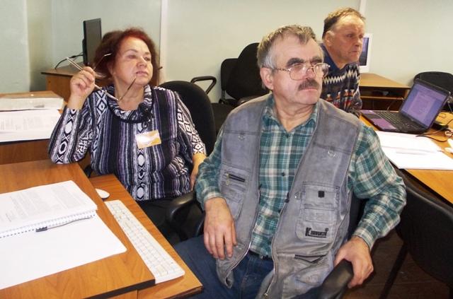 Учебные занятия в рамках проекта. 10 октября 2013 г. Фото С. Кошкиной