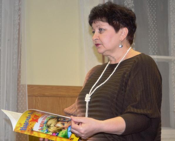 Надежда Васильева в администрации Беломорского района, г. Беломорск, 17 декабря 2013 г. Фото Светланы Кошкиной