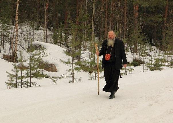 Отец Сергий. Фото В. Дрягуева (г. Беломорск, Республика Карелия)