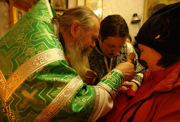 Отец Сергий. 13 апреля 2014 г. Фото Виктора Дрягуева