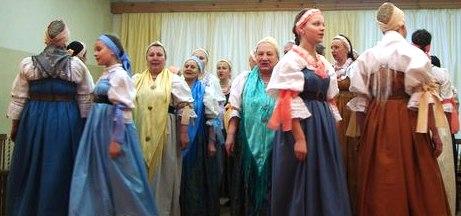 Поморский народный хор. 22 декабря 2013 года. Фото Т. В. Каньшиевой
