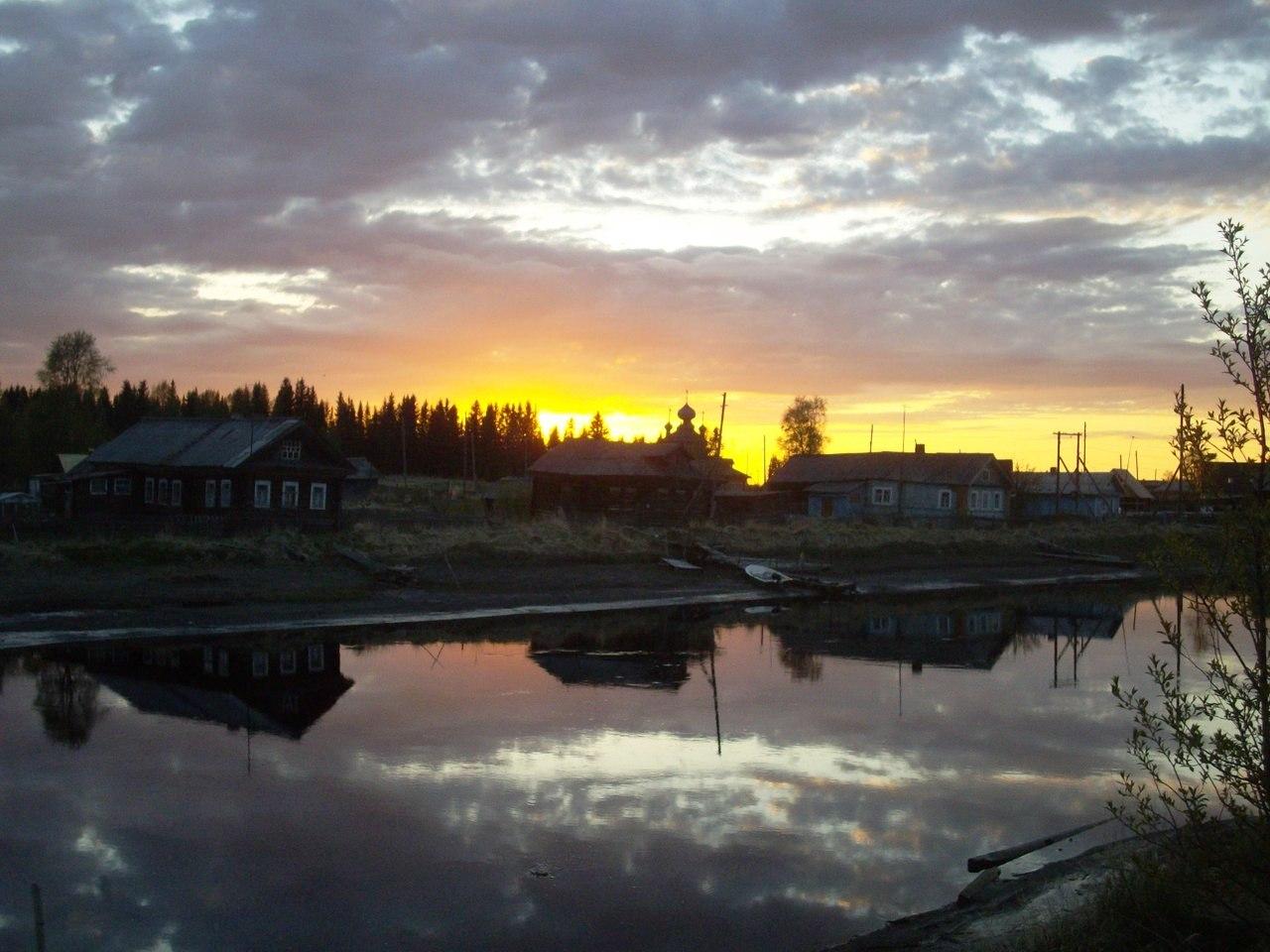 Старинное поморское село Вирма. Фото Валерия Кошкина