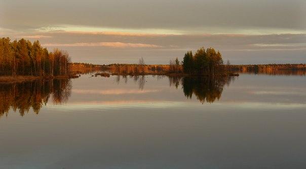 Водохранилище под Золотцом. Фото В. Дрягуева (г. Беломорск, Республика Карелия)