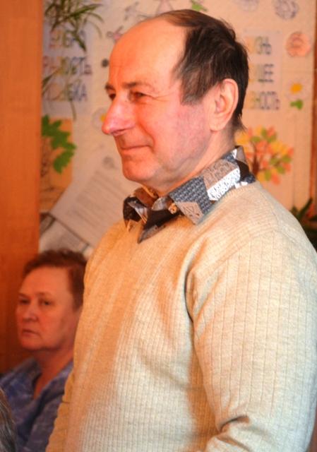 Николай Иванович Алейник на премьере хронографа. Фото А. Лазутина