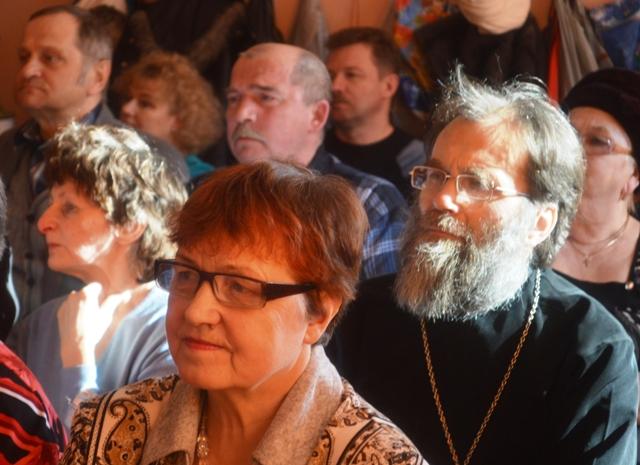 Премьера хронографа в п. Летнереченский. 14 марта 2014 г. Фото А. Лазутина