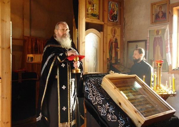 Отец Сергий. Фото Виктора Дрягуева