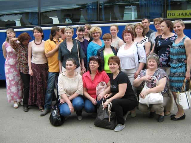 Участники выездного семинара по обмену опытом в Вологде. Фото О.Степановой.