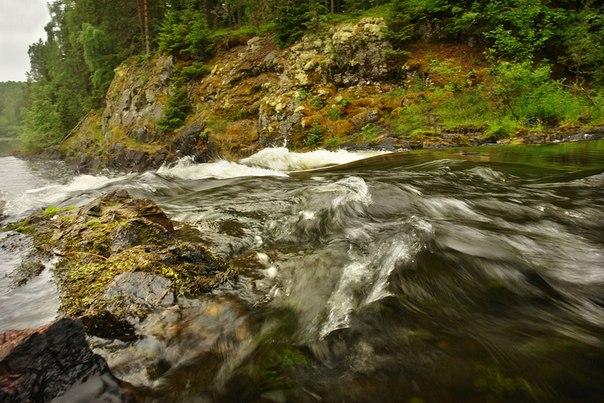 Водопад Кивач. Фото Виктора Дрягуева