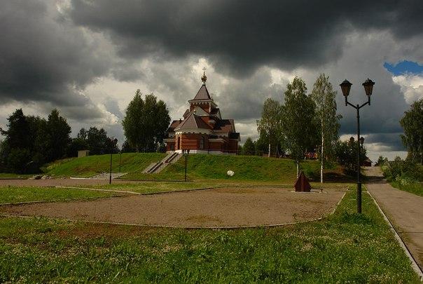 Храм Рождества Христова. Суоярви. Фото Виктора Дрягуева