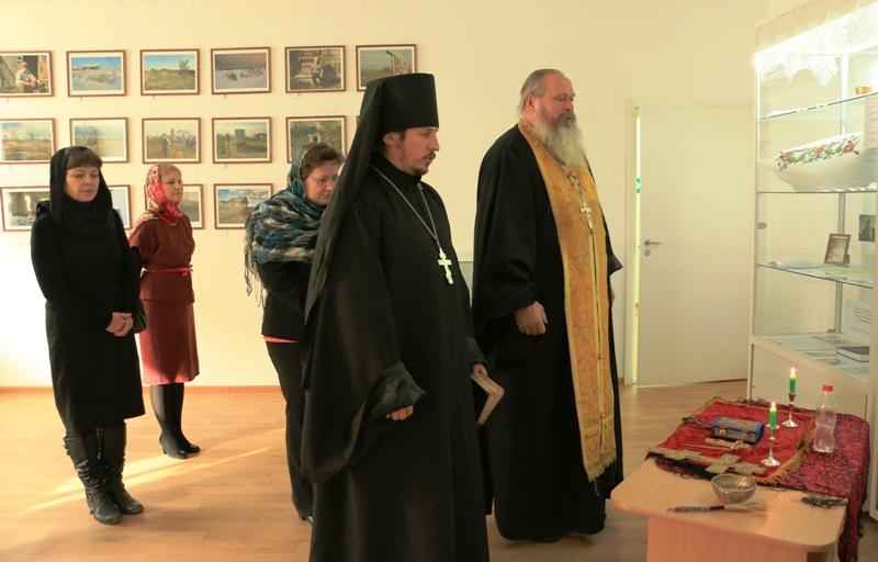 Освящение помещения Центра поморской культуры. 17 октября 2014 г. Фото В. Дрягуева