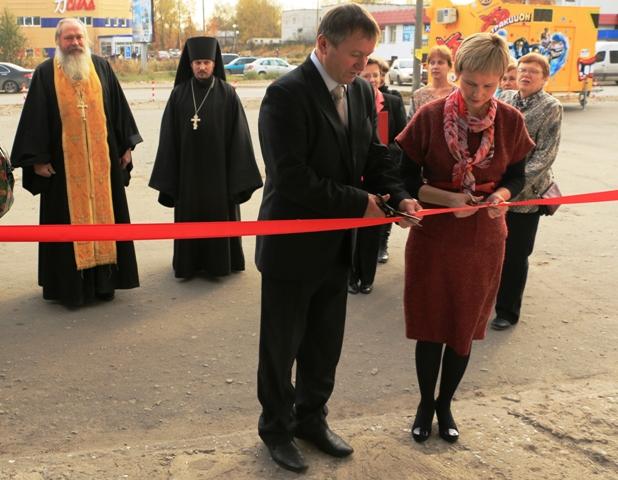 Открытие помещения Центра поморской культуры. 17 октября 2014 г. Фото В. Дрягуева