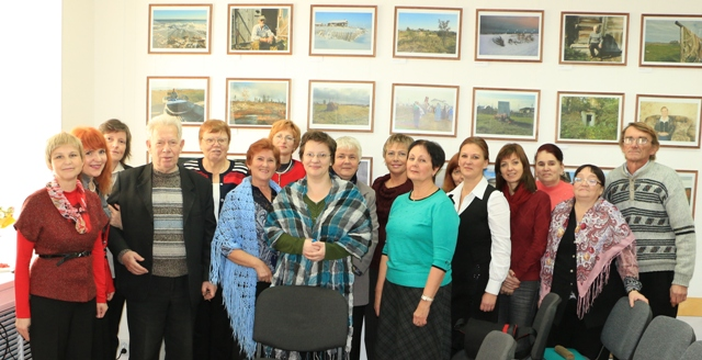 Фотография на память. Балагуровские чтения. 22 октября 2014 г. Беломорск. Фото В. Дрягуева