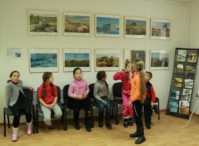 Краеведческий урок. 18 ноября 2014 г. Фото Виктора Дрягуева