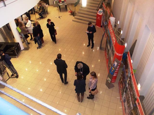 Открытие туристского форума в Национальном театре РК. Петрозаводск. 21 ноября 2014 г. Фото С. Кошкиной