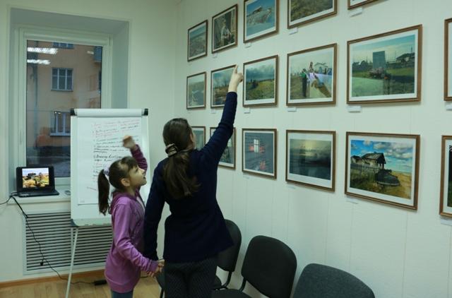 В центре поморской культуры г. Беломорска. 26 ноября 2014 г. Фото Виктора Дрягуева