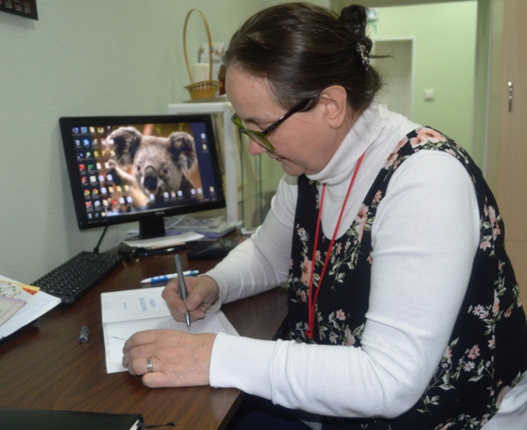Елена Яскеляйнен. 18 декабря 2014 г. Фото С. Кошкиной
