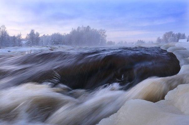 Река Выг. Фото В.Дрягуева (г. Беломорск)