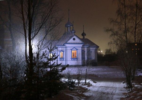 Храм во имя преподобных Зосимы, Савватия и Германа Соловецких. Беломорск. 17 декабря 2014 г. Фото В. Дрягуева