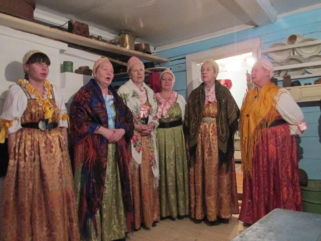 Фольклорная группа села Колежма.