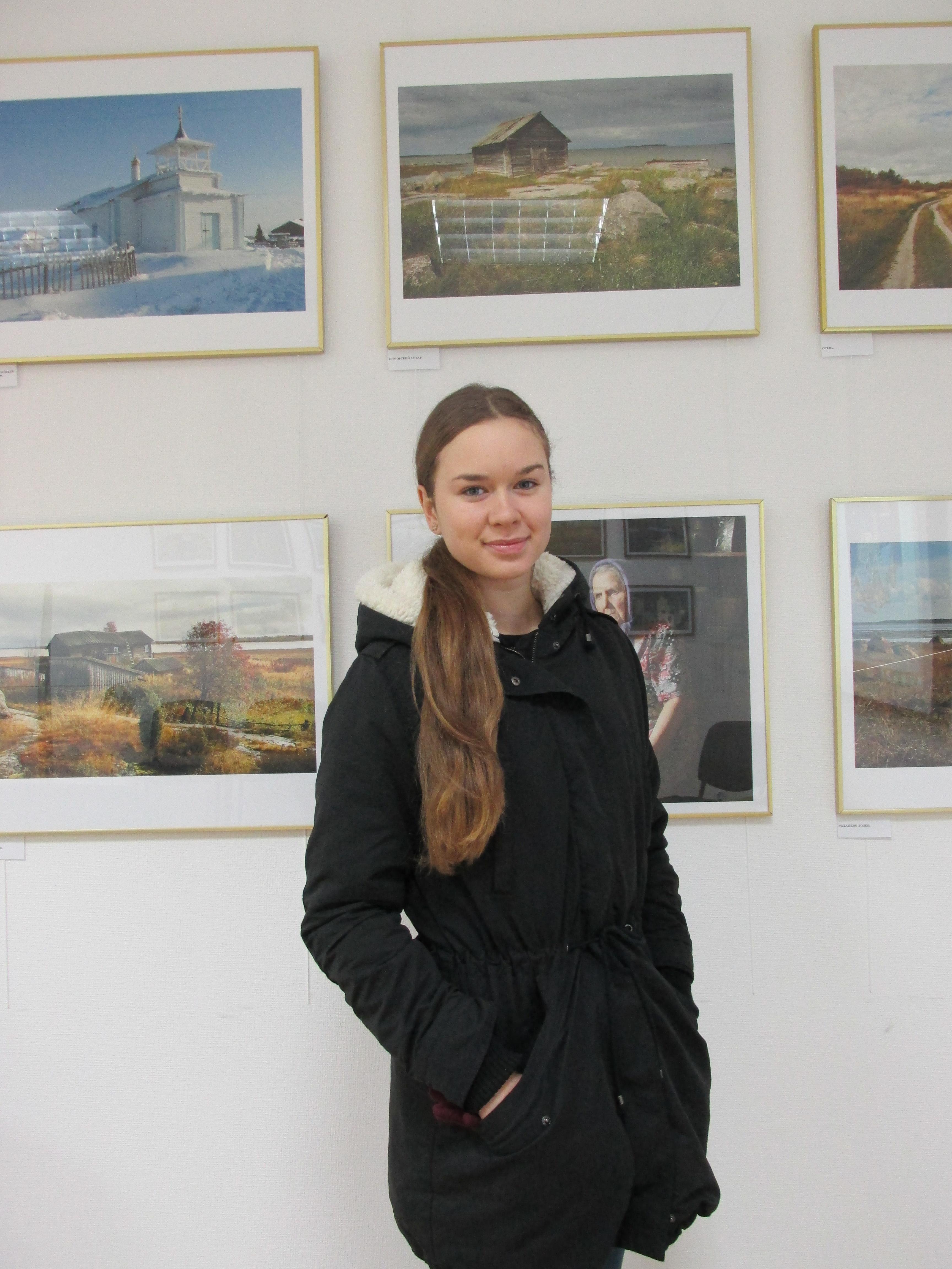 Анна (г.Беломорск) в Центре поморской культуры. 2.01.2015 г.