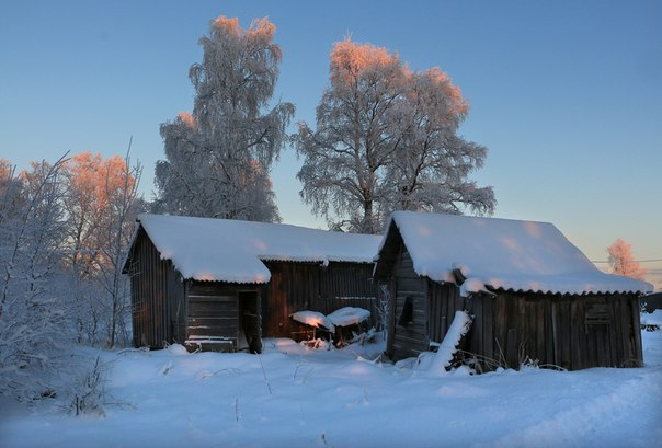 Поморье. Фото В. Дрягуева (г. Беломорск)