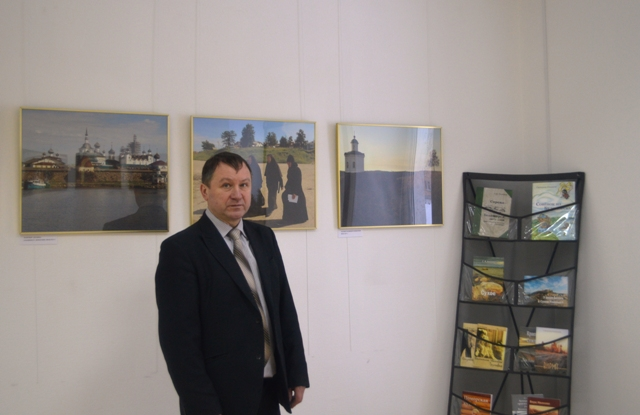 В.Ф. Попов в Центре поморской культуры