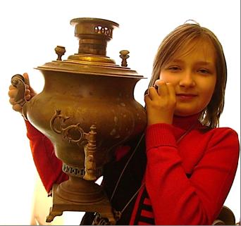 Реликвия семьи Володченко хранится в школьном  музее-мастерской «Рукоделия Поморья»