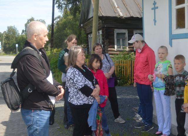 Экскурсия «Православные святыни Беломорска». 7 июля 2015 г. Фото Любавы Абайдуллиной