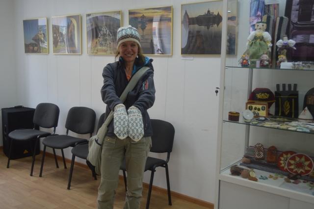 Туристы в Центре поморской культуры