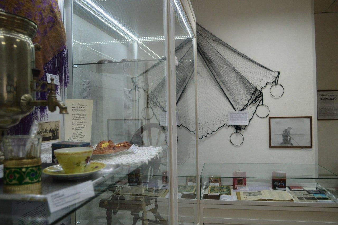 Экскурсия по выставке «Voijärvi, душа моя, Маслозеро»