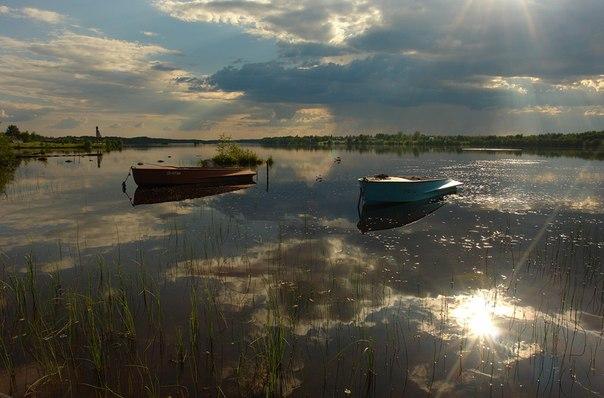 Деревня Выгостров. Фото Виктора Дрягуева