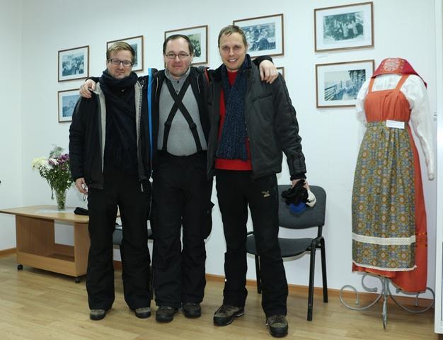 Туристы из Германии в Центре поморской культуры