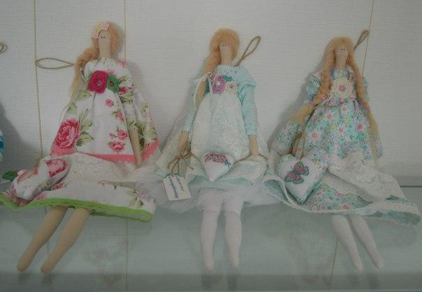 Куклы - тильды Снежаны Горына. Фото О.Степановой