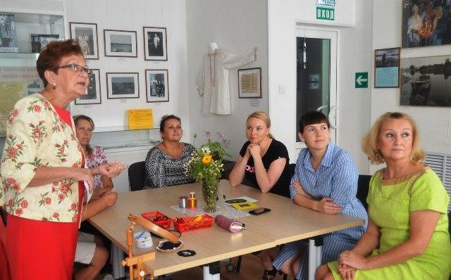 В Центре поморской культуры состоялось открытие курсов золотного шитья