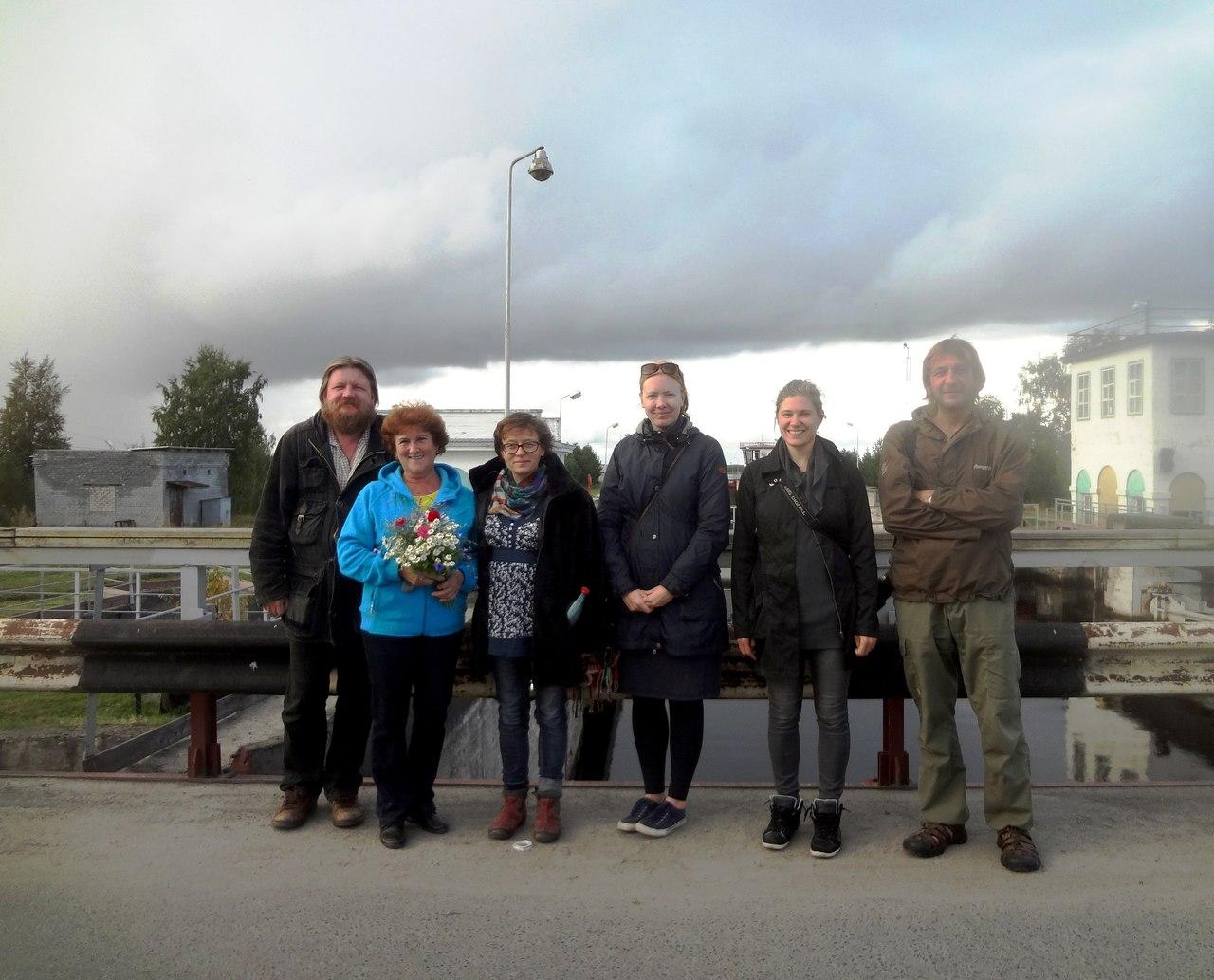 Гости из Эстонии в Беломорске